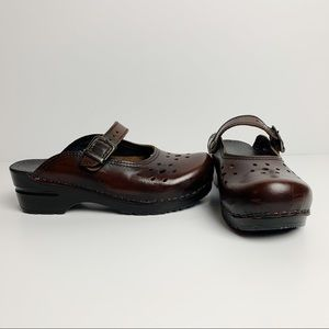 Sanita | Brown Comfort Work Clogs Sz 36/6